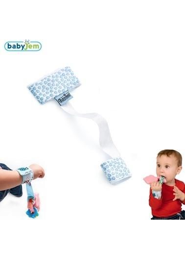 Baby Jem Babyjem Çıngırak Tutucu  Mavi